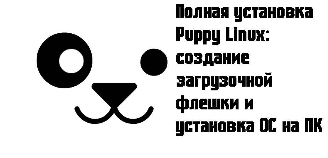 Puppy linux instruction intro