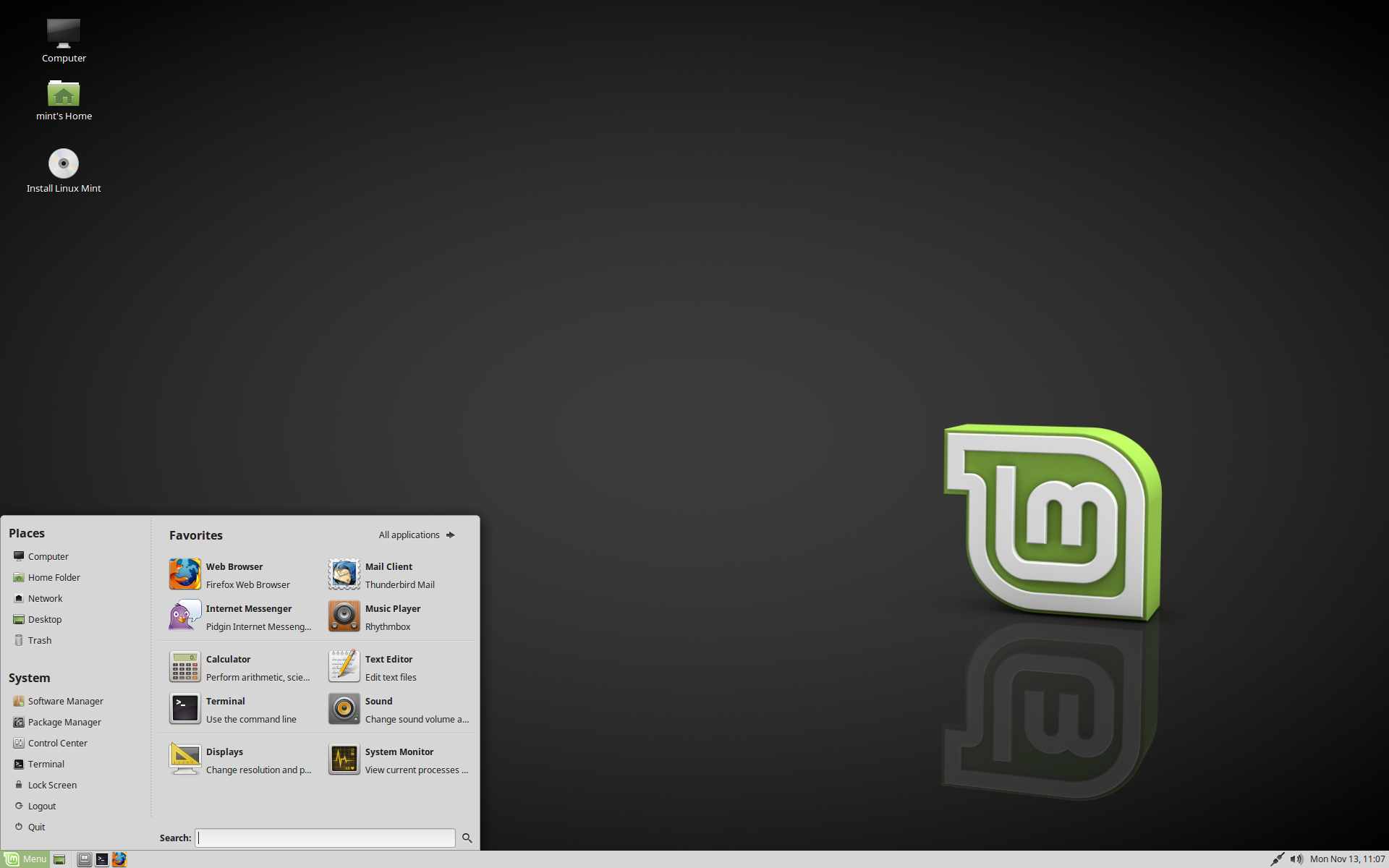 Linux Mint MATE Edition